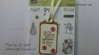 Twelve Tags of Christmas – Day Ten