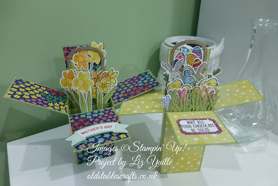 Little Card Boxes for Mother or Easter – Shame the video didn't work!!