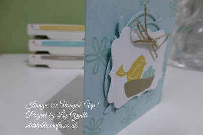 Swirly Bird Notelet – So Cute!