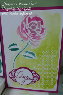 Graceful Garden, Stampin Up, Heat Embossing, Label me Lovely