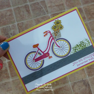 Pink Bike Ride Card