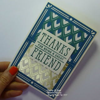 Eastern Palace Thanks for Being a Friend Card