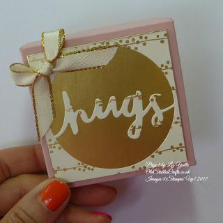 Bundle of Love Blushing Bride Hugs Box