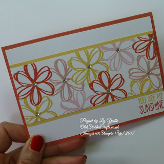 Sunshine Saying Calypso Coral Card