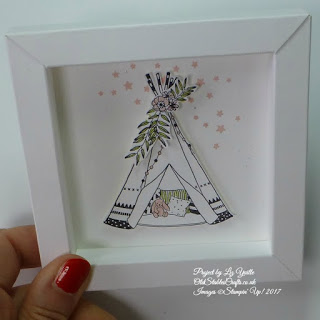 Little One White Box Frame
