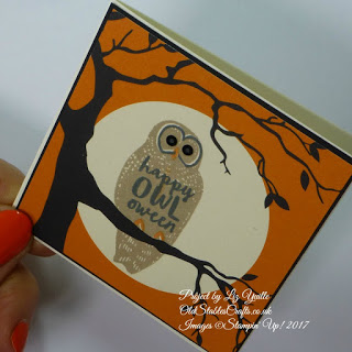 Spooky Fun Owl card