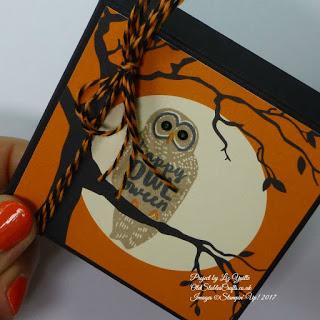 Spooky Fun Owl box