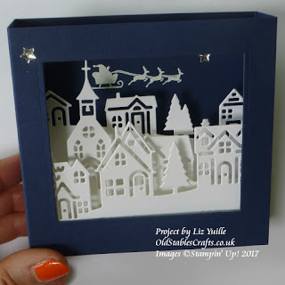 Hearts Come Home Tunnel Card in Night of Navy and Whisper White