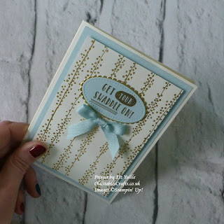 Bundle of Love and Little One card stampin up