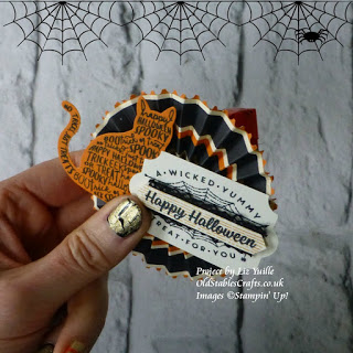 Spooky Night Spooky Cat Reese Cup Stampin Up