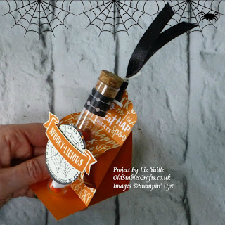 Spooky Night Stampin Up Test Tube stand the little things