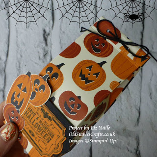 Spooky Night Spooky Cat Labels to Love Gift Bag Stampin Up