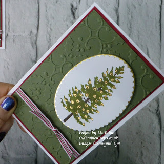 Season Like Christmas Stampin Up Christmas Tree card