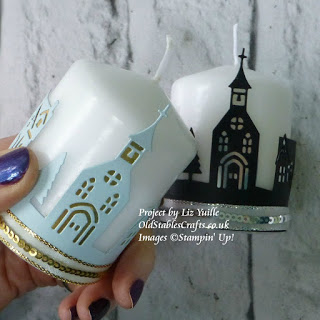 Hometown Greetings Candle Wrap Stampin Up