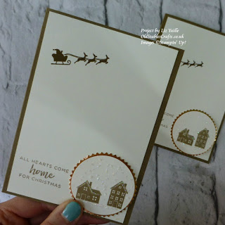 Hearts Come Home Stampin Up Christmas Card