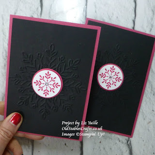 Snowflake Sentiments Stampin Up