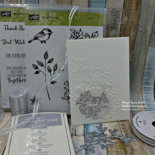 Petal Palette White on White Card