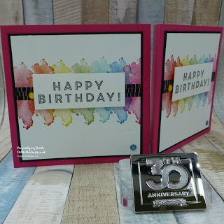 Eclectic Expressions Rainbow Card