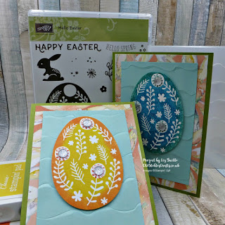 Hello Easter Ombre Egg Card
