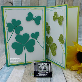 Sweet and Sassy Hearts St Patrick's Day Card