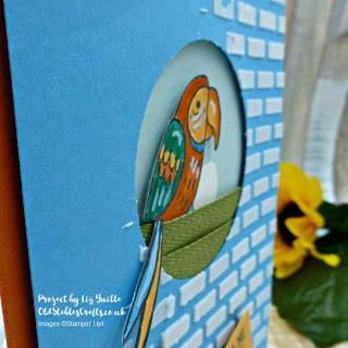 Bird Banter Embossed Nest Card