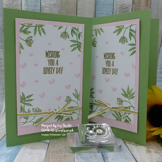 Lovely Wishes on Glossy White Card