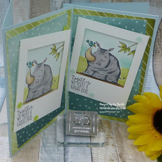 Animal Outing Delightful Daisy Card
