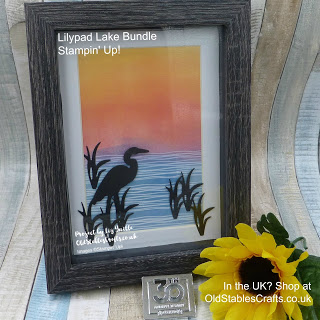 Lilypad Lake Bundle - Sunset Crane Stampin Up