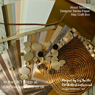 Wood Textures Designer Series Paper May Craft Box Father's Day