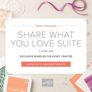 Share What You Love Bundles Deadline 31 May 2018
