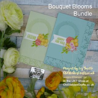 Bouquet Blooms Subtle CASE Card