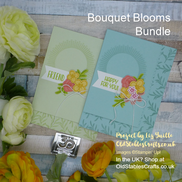 Bouquet Blooms Subtle Card