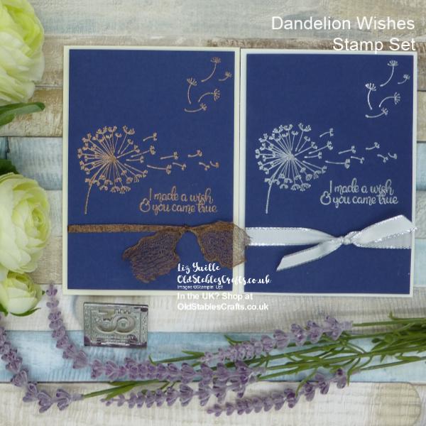 Dandelion Wishes Meets Metallics