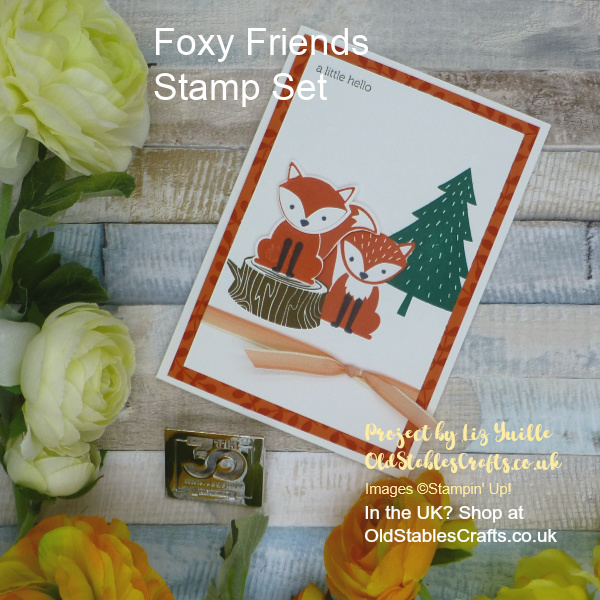 Foxy Friends Inspire Create Challenge Kids Theme Card sm