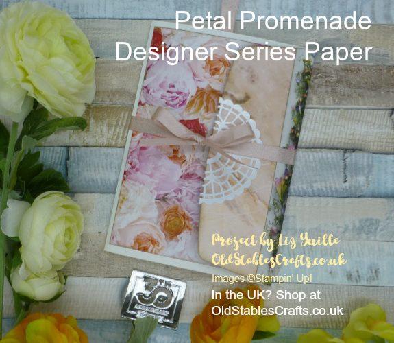 Petal Promenade Envelope Mini Album