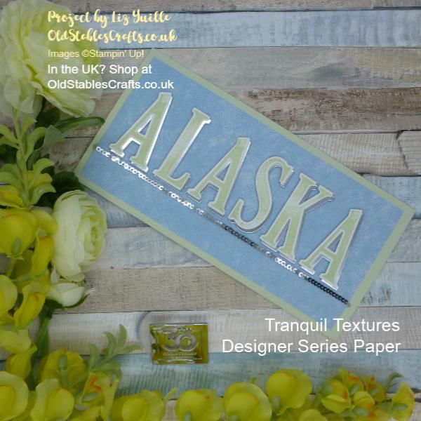 Alaska Tranquil Textures Card