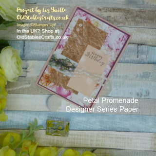 Petal Promenade Scraps Card