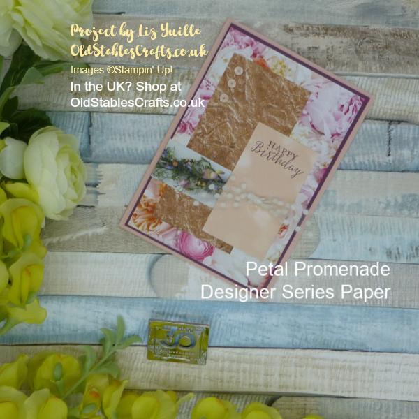 Petal Promenade Scrap Card