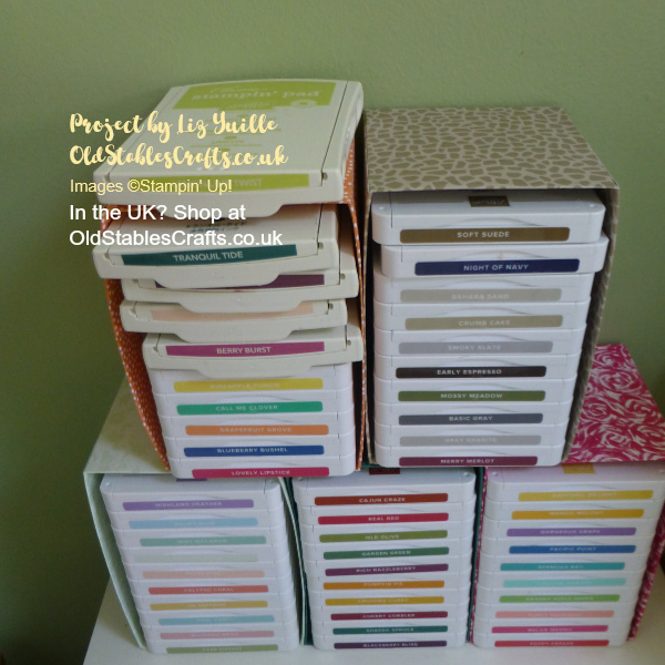 Stamp Pad Storage Solution