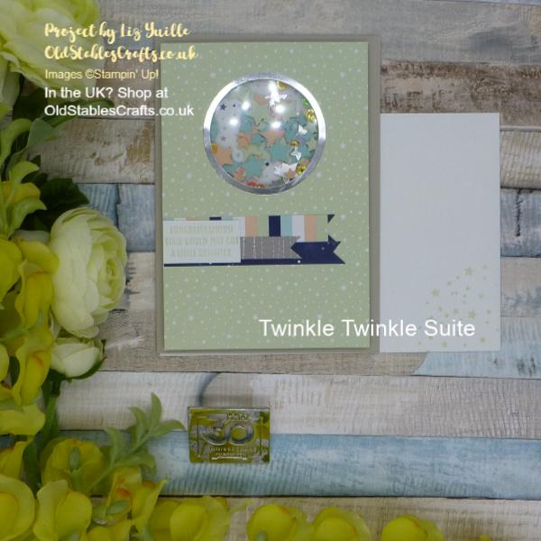 Twinkle Twinkle Shaker Card