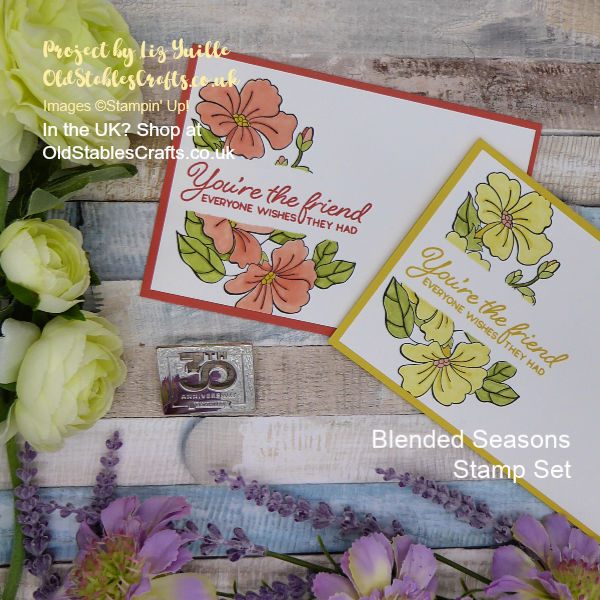 Blended Seasons Mask Card