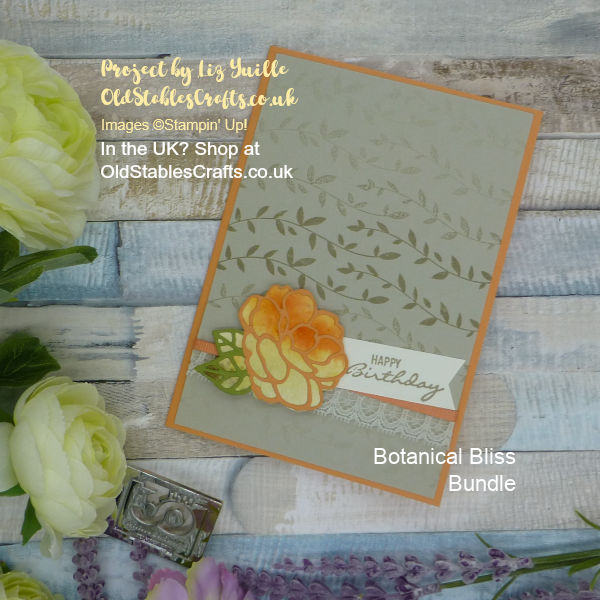 Botanical Bliss Floral Card for Inspire Create Challenge