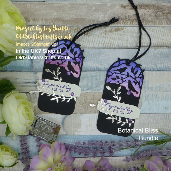 Botanical Bliss Gift Tag