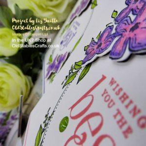 Floral Frames Bundle meets Watercolour Pencils Take 2