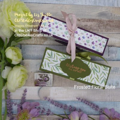 Frosted Floral Box for Shimmer Paints – A Match Made in Heaven!