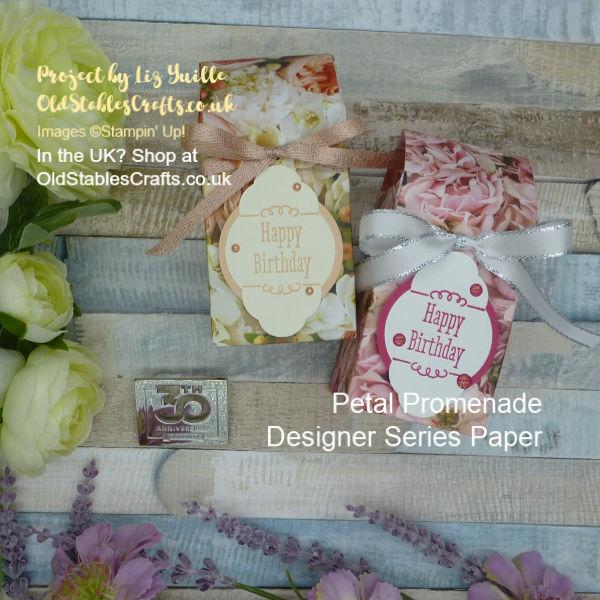 Petal Promenade Gift Bag Box