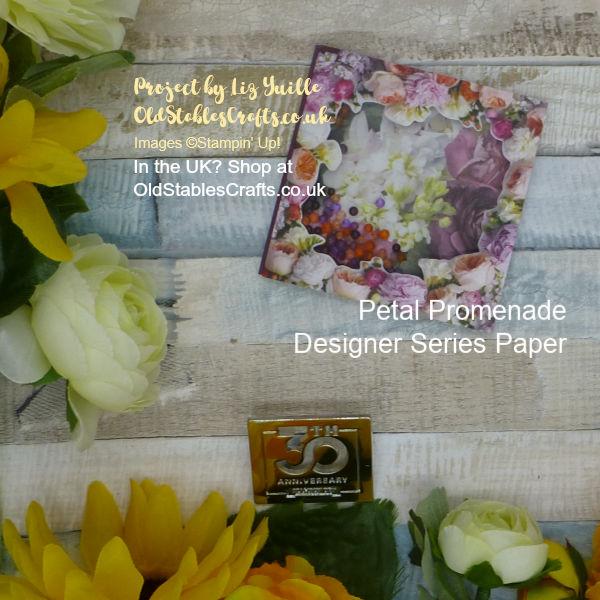 Petal Promenade Shaker Card