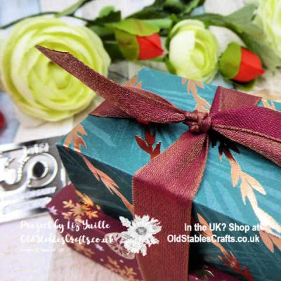 Joyous Noel Stacked Boxes – Luxurious AND Cute