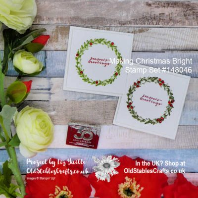 Making Christmas Bright Super Easy Card