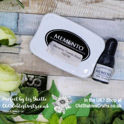 Memento Tuxedo Black Ink from Stampin' Up! – How To
